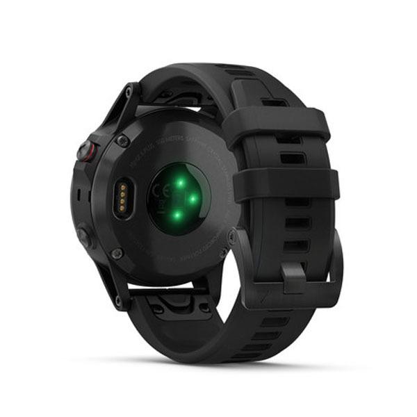 Fenix 5 Plus Sapphire черные с черным ремешком