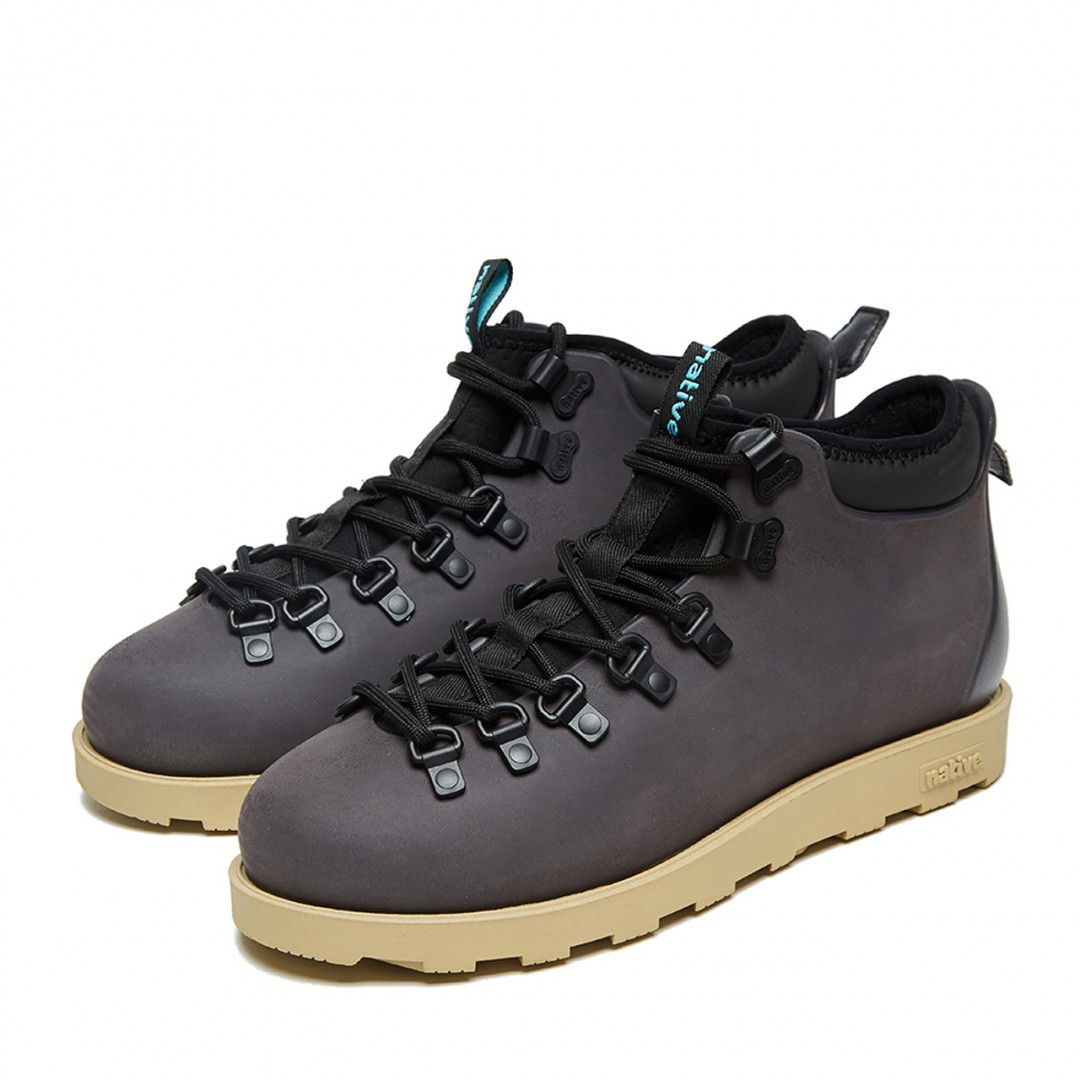 582c265aa Ботинки Native Fitzsimmons Onyx Black / Stone Brown. Ботинки Native  Fitzsimmons ...