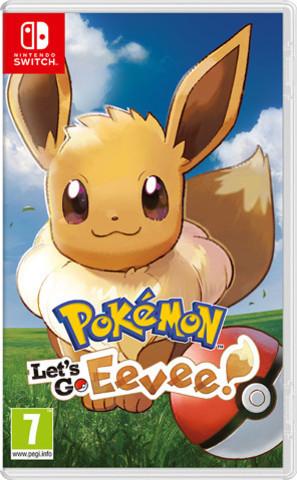 NS: Pokémon: Let's Go, Eevee! (n) (английская версия)
