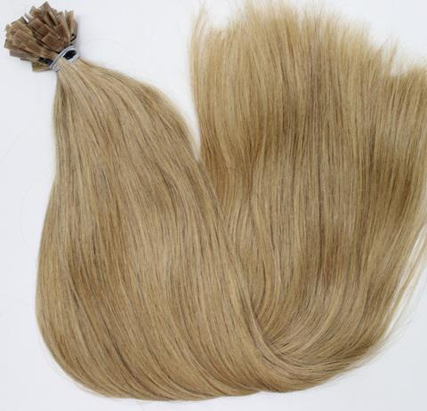 Волосы на плоских кератиновых капсулах,цвет 19A( 2 КЛАСС)-50 СМ-53 шт
