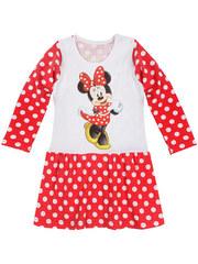 M-754-2 платье детское, бело-красное