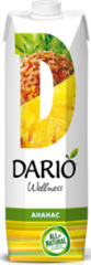 Сок DARIO Wellness Ананасовый 1л