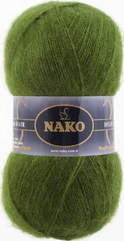 Купить Пряжа Nako Mohair Delicate Код цвета 6126 | Интернет-магазин пряжи «Пряха»