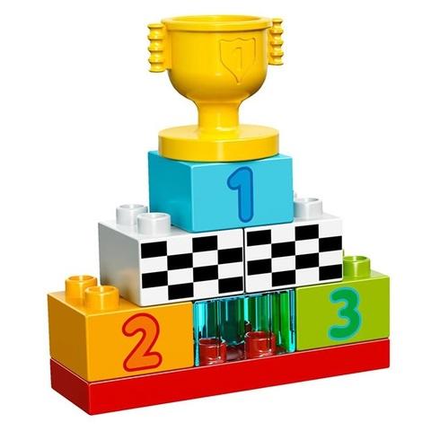 LEGO Duplo: Гонки на Тачках 10600 — Disney Pixar Cars Classic Race — Лего Дупло Тачки