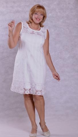 Платья из хлопка с шитьем купить
