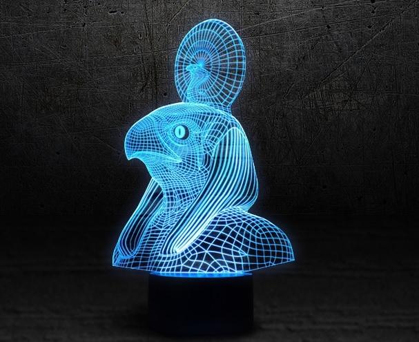 3D светильник Ра — 3D light Ra