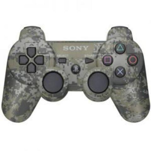 Sony PS3 Контроллер игровой беспроводной (камуфляж, копия)