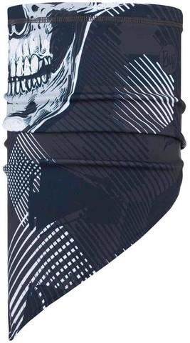 Шарф-бандана сноубордическая Buff Bandana Tech Fleece Geosku Grey