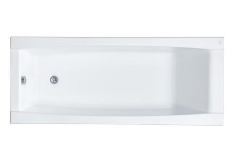 Акриловая ванна Santek Санторини 170х70 прямоугольная белая 1WH302487