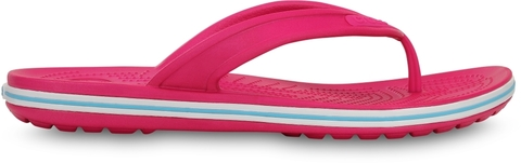 Сандалии Крокс Crocband LowPro Flip Candy Pink/Electric Blue