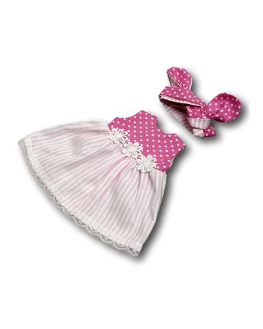 Платье летнее - Цикламеновый. Одежда для кукол, пупсов и мягких игрушек.