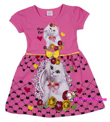 413 платье кошечки