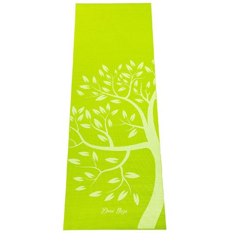Коврик для йоги Дерево 183*61*4мм