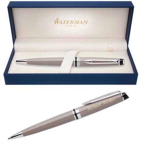 Шариковая ручка Waterman Expert 3, цвет: Taupe CT, стержень: Mblu123