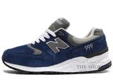 Кроссовки Мужские New Balance 999 Navy Grey White