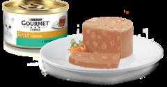 Gourmet Gold Кусочки в паштете с кроликом 85 г