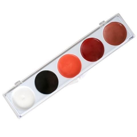 MEHRON Палитра на 5 цветов ProFACE 5-Color Kit