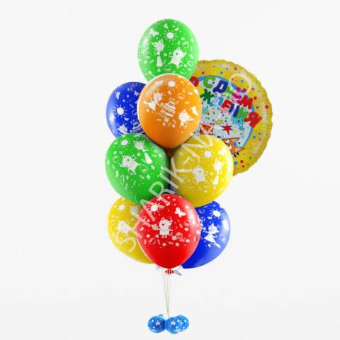 Фонтаны из шаров Фонтан из шаров Три кота Букет_Три_кота.jpg