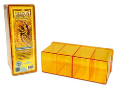 Dragon Shield - Коробочка жёлтая на 300+ карт