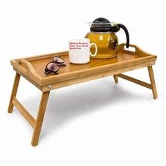 Деревянный столик поднос