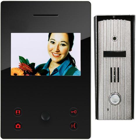 Цветной проводной видеодомофон A4-E7CSM