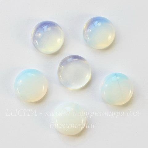 Кабошон круглый Лунный Камень (искусств), 12 мм