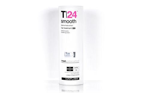T24 Smooth Post™ Сыворотка для прямых волос, двойной эффект, 12 *8 мл