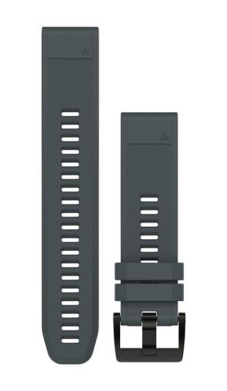 Силиконовый ремешок Garmin QuickFit 22 мм гранитно-синий