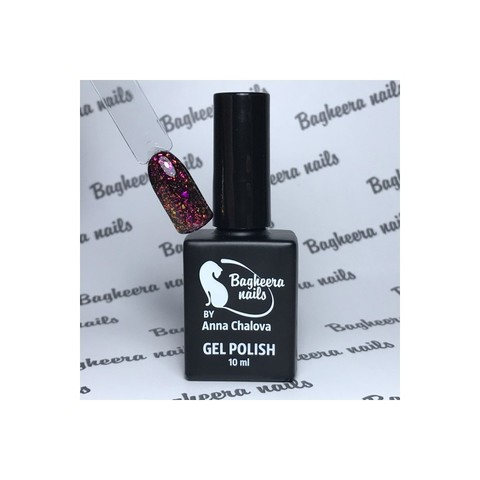 Bagheera Nails BN-75 красный опал гель-лак 10 мл