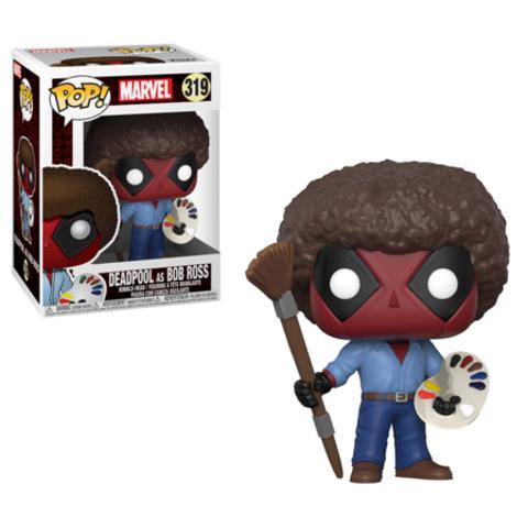 Deadpool as Bob Ross Funko Pop! Vinyl Figure    Дэдпул (Боб Росс)