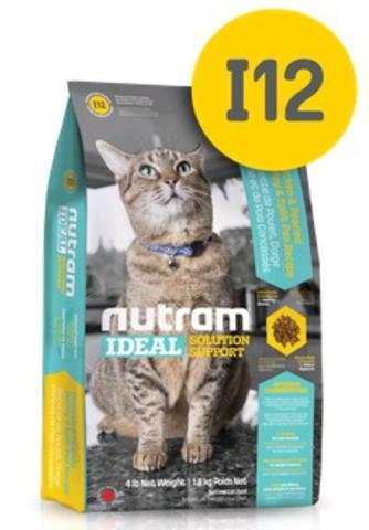 NUTRAM IDEAL НАТУРАЛЬНЫЙ КОРМ ДЛЯ КОШЕК, КОНТРОЛЬ ВЕСА Для взрослых кошек 1,8 кг.