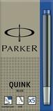 Картридж чернильный Parker Z11 для перьевой ручки с чернилами Blue (5шт) (S0116240)