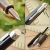Купить Перьевая ручка Parker IM Metal, F221, цвет: Black CT, перо : F, S0856180 по доступной цене