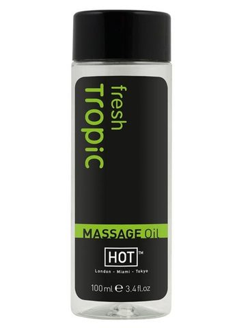 Массажное масло для тела HOT Tropic Fresh (100 мл)