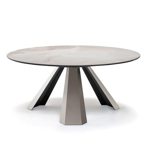 replica table  Eliot Keramik Round ( by Steel Art )