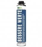 Полиуретановая монтажная пена BESSERE WERTE всесезонная профессиональная  750мл (12шт/кор)
