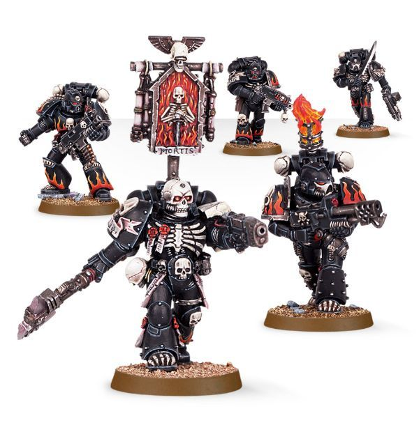 Space Marine Legion of the Damned Squad