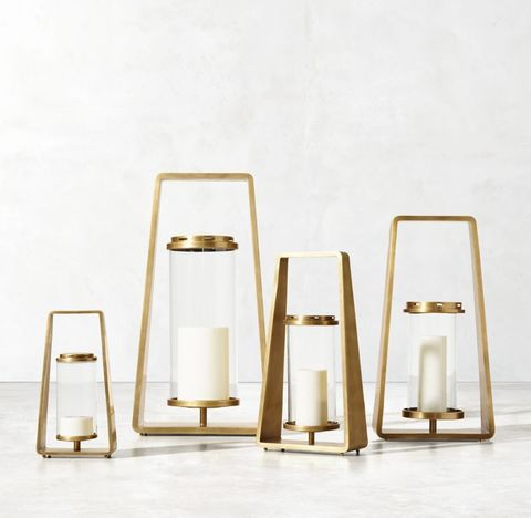 Morency Lantern - Brass