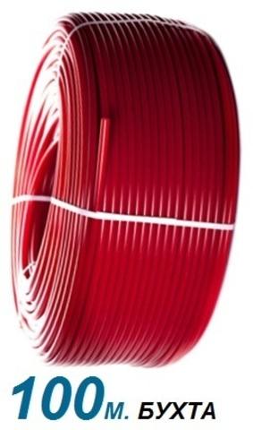Труба Stout 20 х 2,0 из сшитого полиэтилена PEX-a красная бухта 100 м. (SPX-0002-002020)