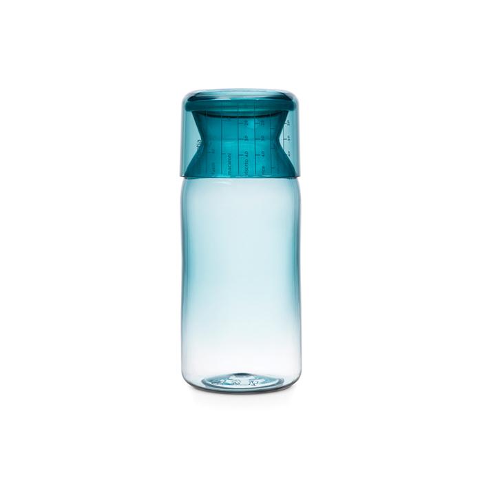 Пластиковая банка с мерным стаканом (1,3 л), Мятный, арт. 290183 - фото 1