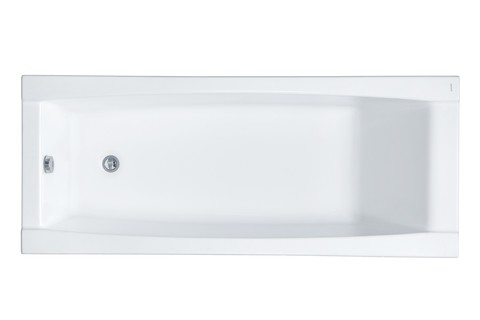 Акриловая ванна Santek Санторини 160х70 прямоугольная белая 1WH302494