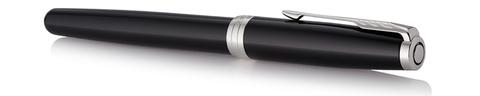 Ручка роллер Parker Sonnet Lacquer Deep Black CT123