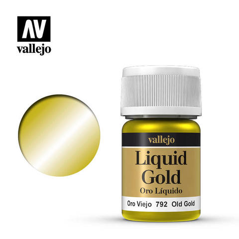 Liquid Gold - Old Gold (Alcohol Based) 35 ml.