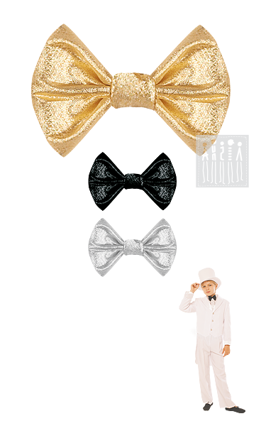 Аксессуары для бальных танцев: галстук-бабочка