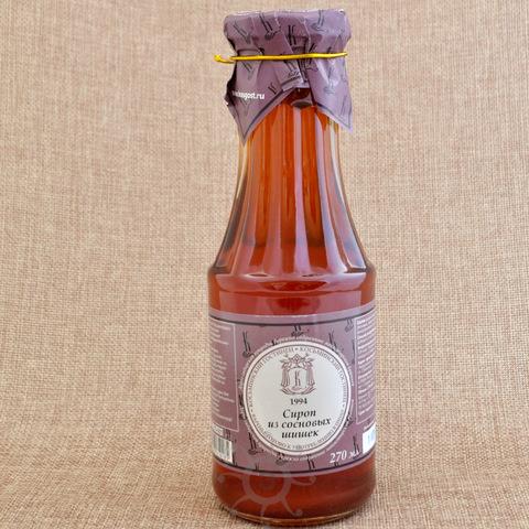 Сироп из сосновой шишки Косьминский гостинец, 270мл