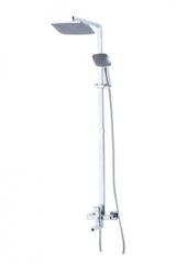 Душевая стойка Kaiser (Кайзер) Sonat  35182 с верхним душем, лейкой и шлангом, хром