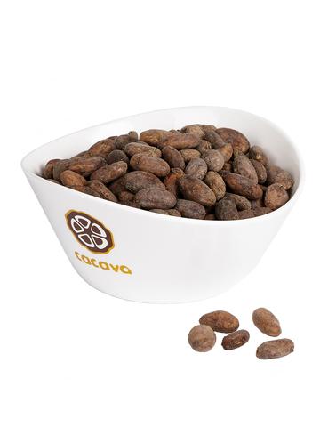 Какао-бобы цельные (Эквадор), внешний вид