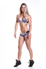Спортивный топ Nebbia Fitness Bra with hem 267 purple