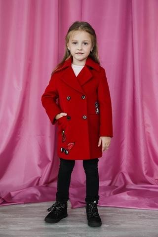 Пальто mamma Mila! (арт. A4 red)