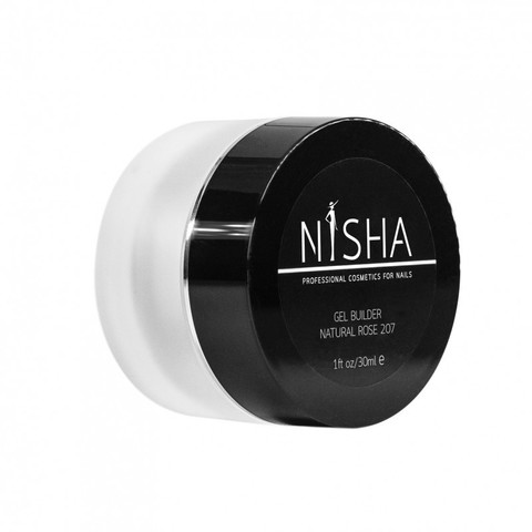 Гель скульптурный Nisha Gel Builder Natural Rose 30ml 207